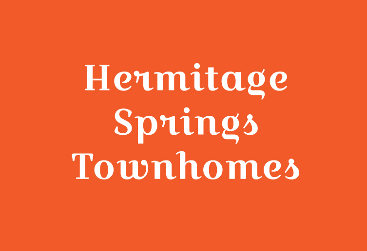 Hermitage Springs Townhomes, Old Hickory Logo